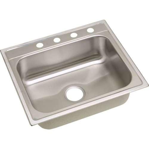Dayton Premium 25-In Stainless Steel Single-Bowl Top-Mount Sink