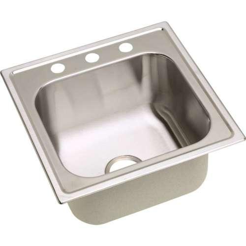 Dayton Premium 20-In Stainless Steel Single-Bowl Top-Mount Sink