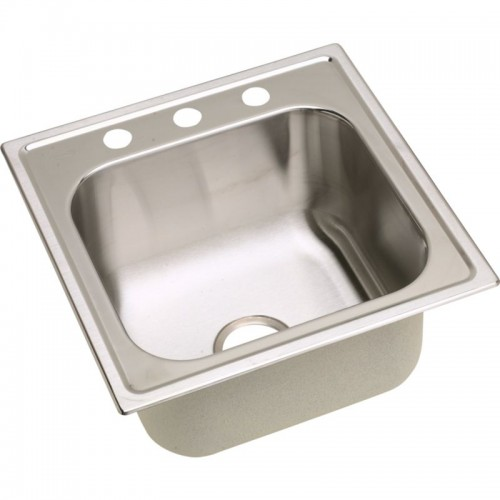 Dayton Premium 20-In Stainless Steel Single-Bowl Top-Mount Sink