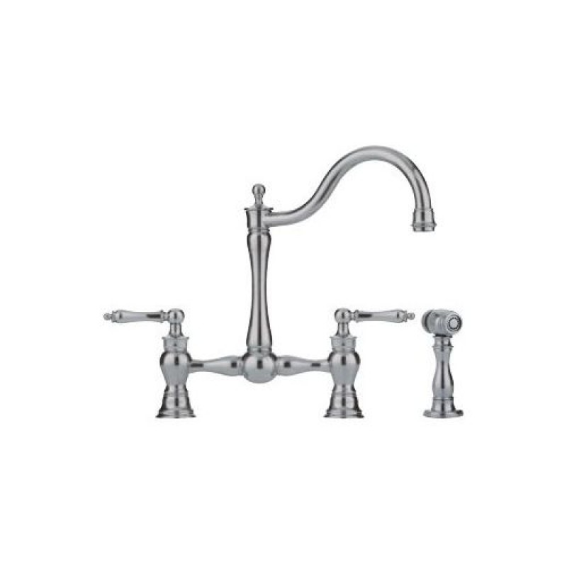 Buy Franke Widespread Kitchen Faucet In Satin Nickel Ff7080a Online