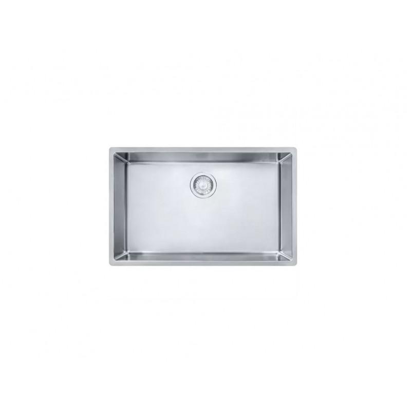 Franke Cube 28-1/2-In Single Basin Undermount 18 Gauge Kitchen Sink