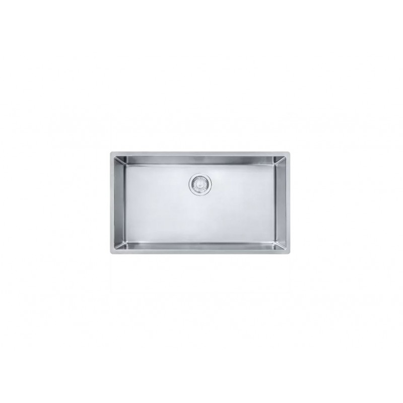 Franke Cube 31-1/2-In Single Basin Undermount 18 Gauge Kitchen Sink