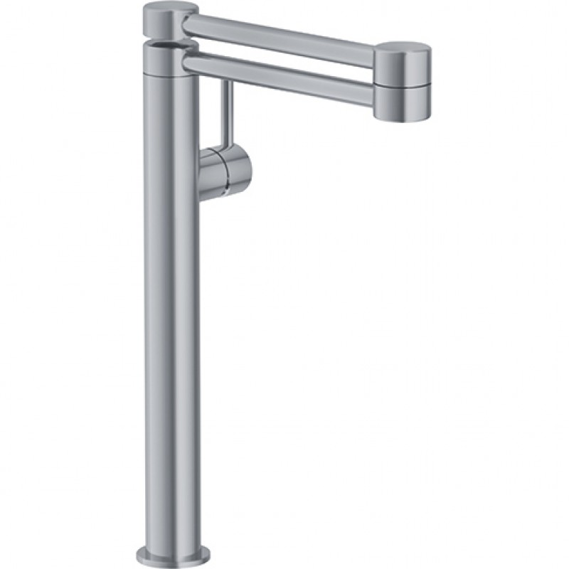Franke Pescara Deck Mounted Pot Filler Faucet In Satin Nickel