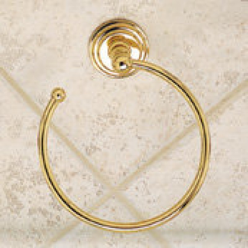 Ginger Chelsea Wall-Mounted Towel Ring