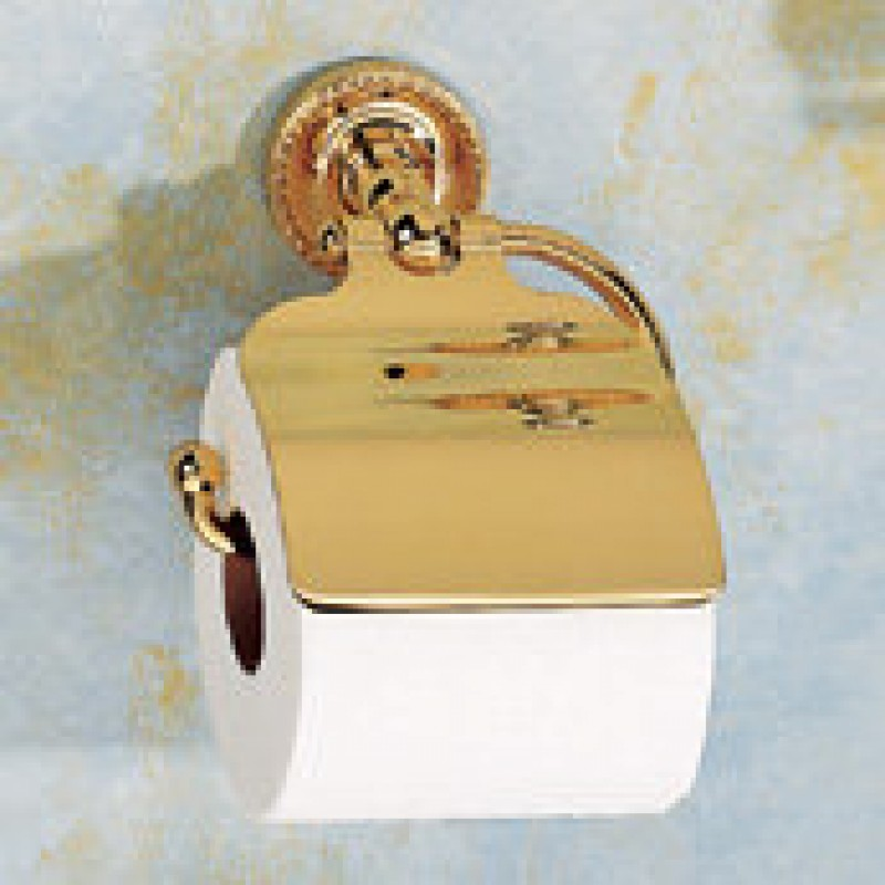 Ginger Canterbury Single-Post Toilet Paper Holder