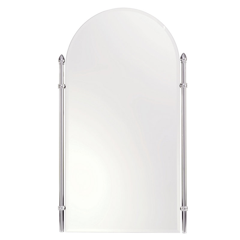 Ginger Canterbury 26.4-In Arched Mirror