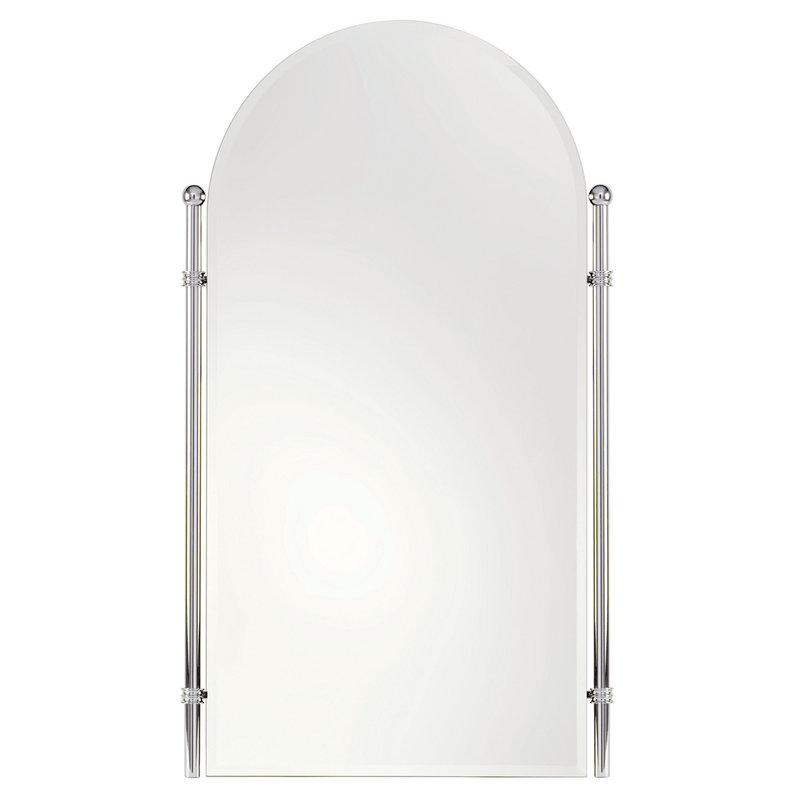 Ginger Chelsea 26.4-In Wall-Mounted Portrait Mirror