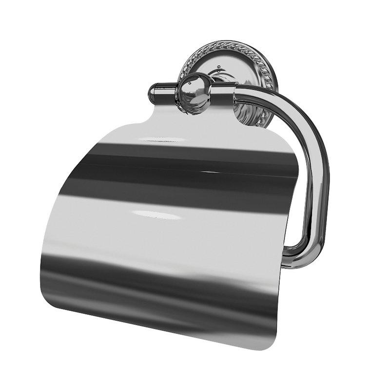 Ginger Canterbury Single-Post Toilet Paper Holder