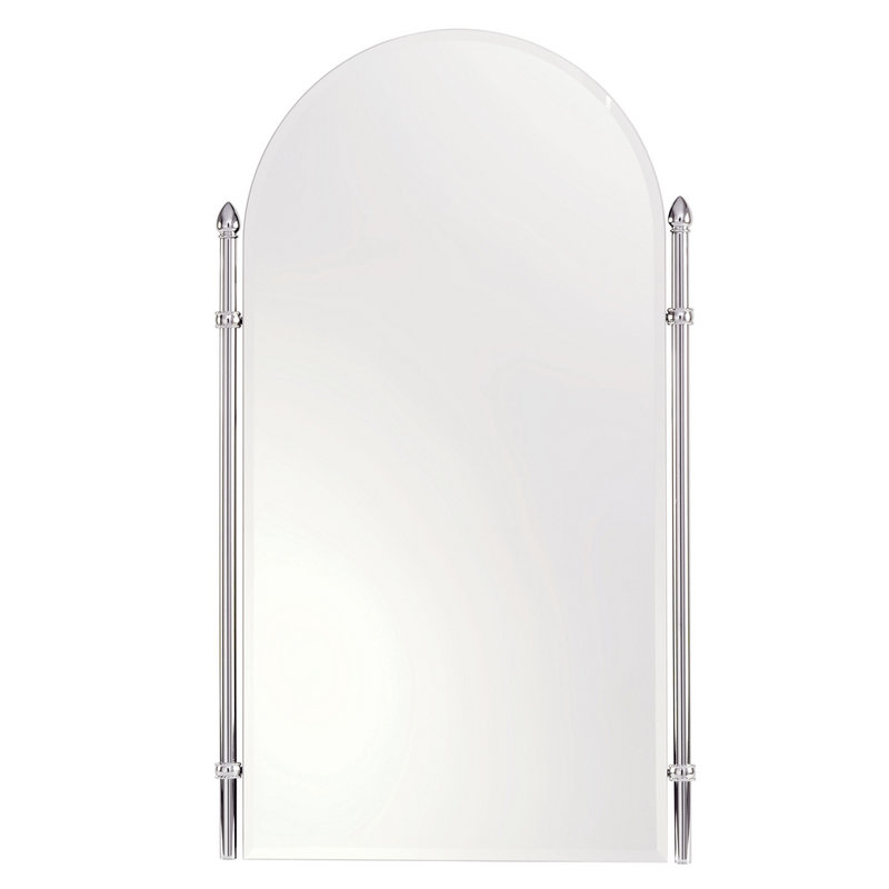 Ginger Canterbury 20.4-In Arched Mirror