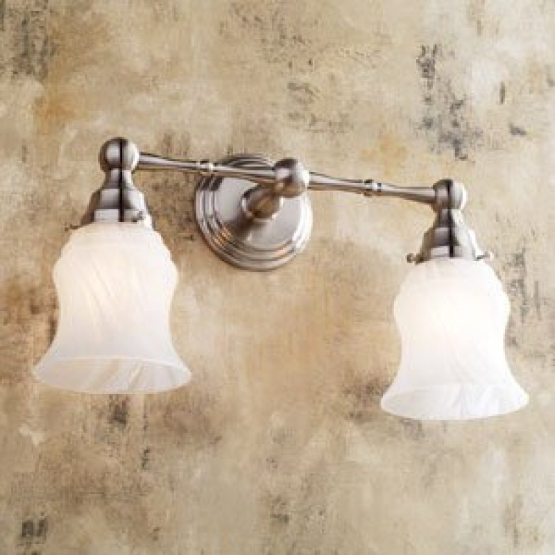 Ginger Chelsea Double-Light Bathroom Fixture
