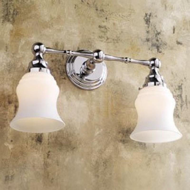 Ginger Chelsea Double-Light Bathroom Fixture