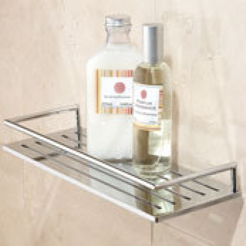 Ginger Surface 24-In Tempered Glass Shelf