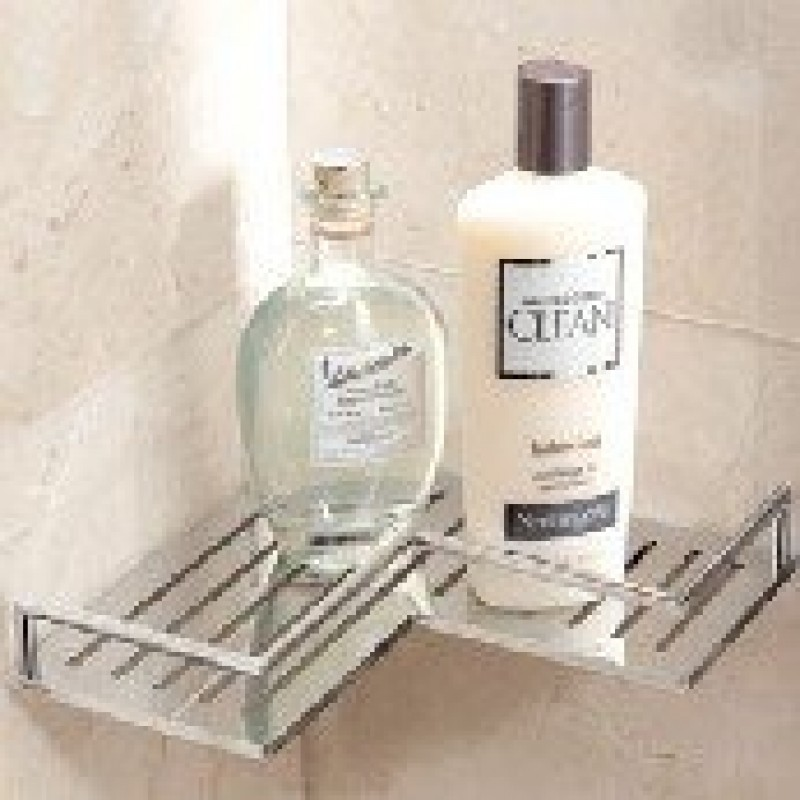 Ginger Synchro Corner Shower Shelf