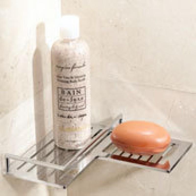Ginger Surface Corner Shower Shelf
