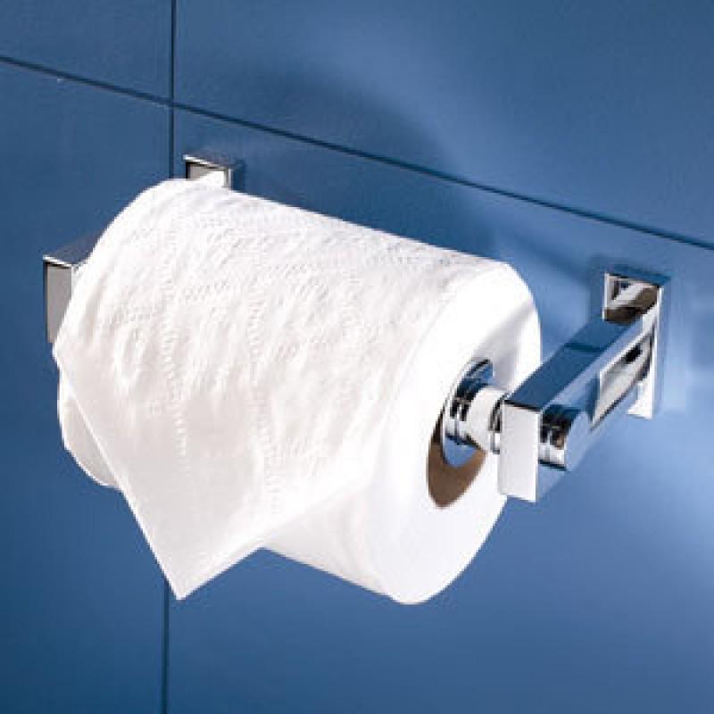 Ginger Frame Double-Post Toilet Paper Holder