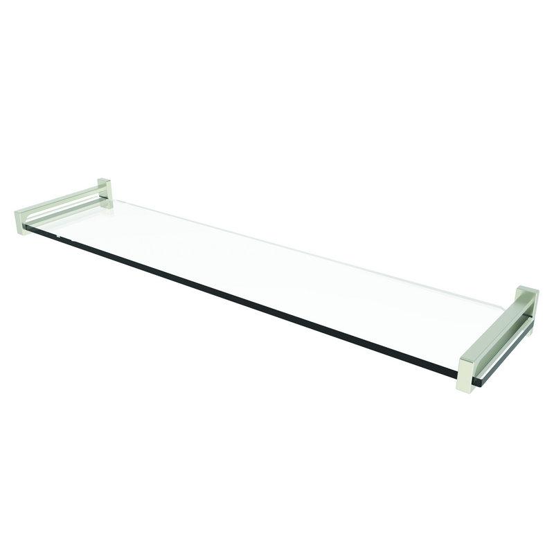 Ginger Frame 24-In Tempered Glass Shelf