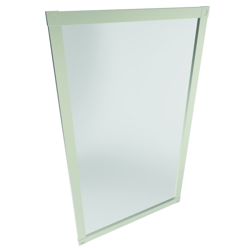 Ginger 18-In X 32-In Framed Mirror