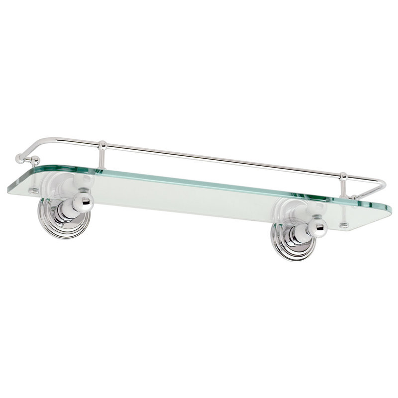 Ginger Chelsea 18-In Glass Shelf