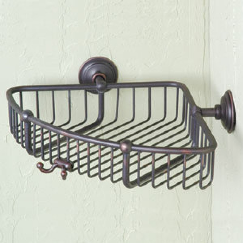 Ginger London Terrace 9-In Corner Basket