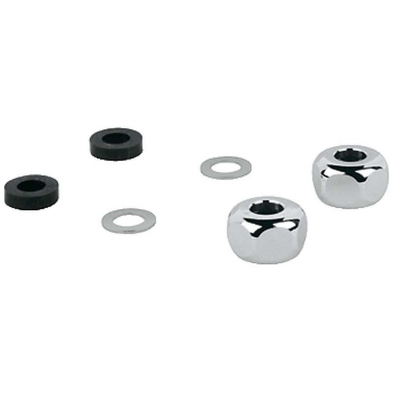 Grohe 3/8-In Compression Union Nut And Seal (2 Pack)