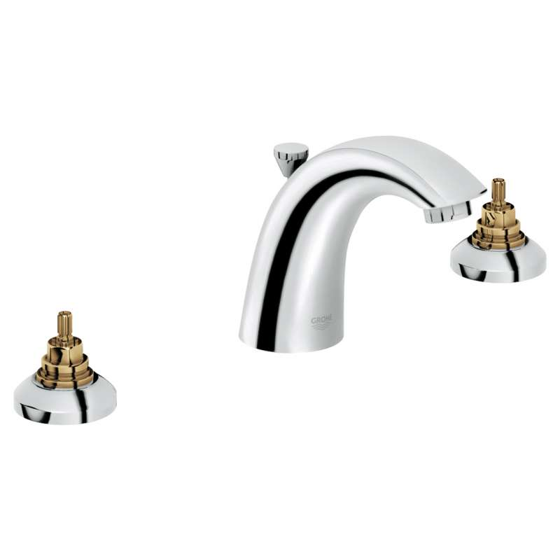 Grohe Arden Widespread Bathroom Faucet In StarLight Chrome