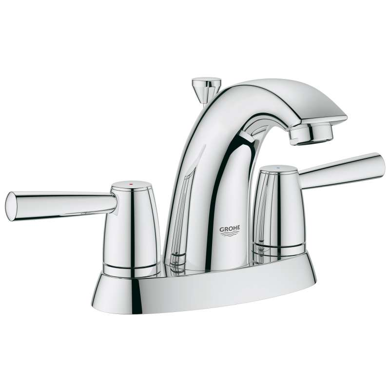 Grohe Arden Centerset Bathroom Faucet In StarLight Chrome