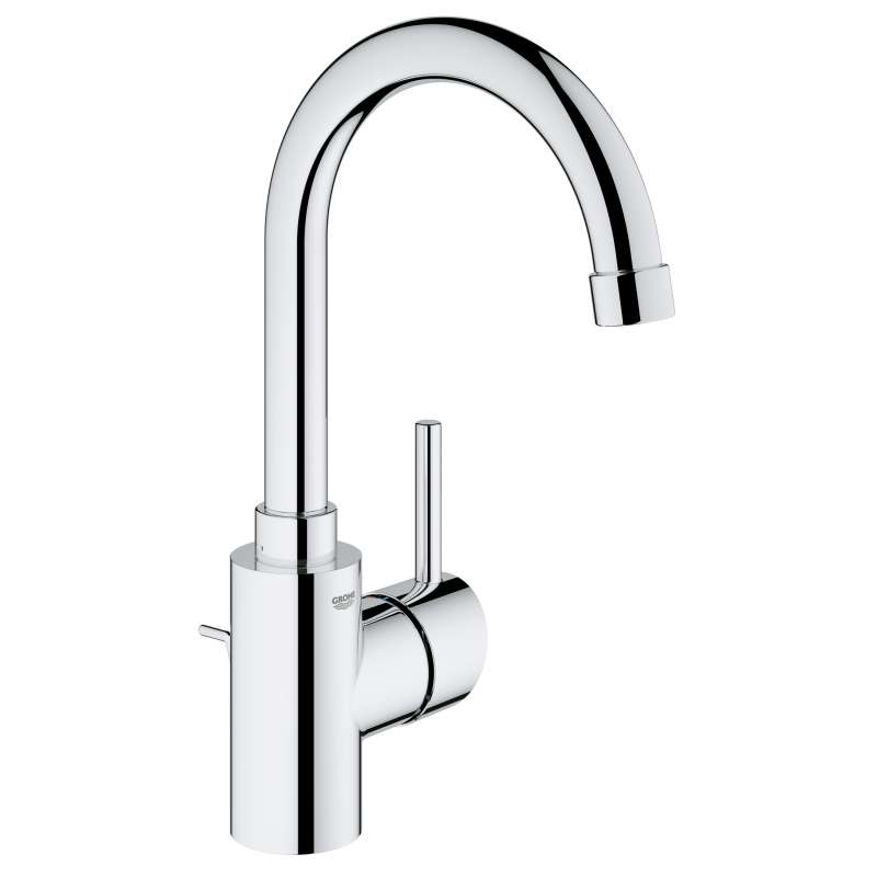 Grohe Concetto L-Size Bathroom Faucet with Swivel Spout In StarLight Chrome