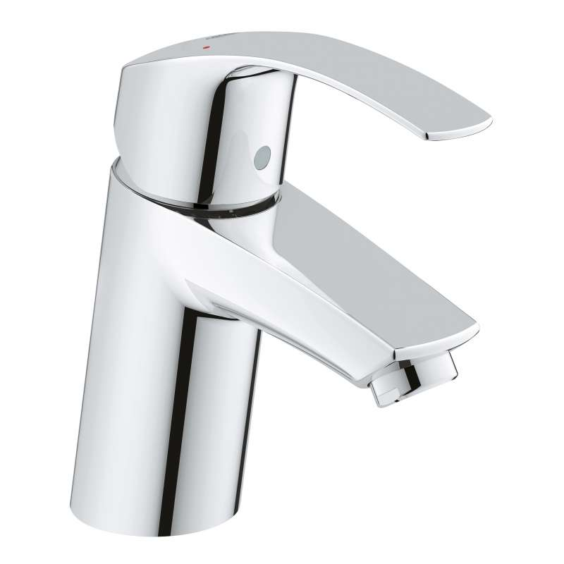 Grohe Eurosmart S-Size Bathroom Faucet with Fixed Spout In StarLight Chrome