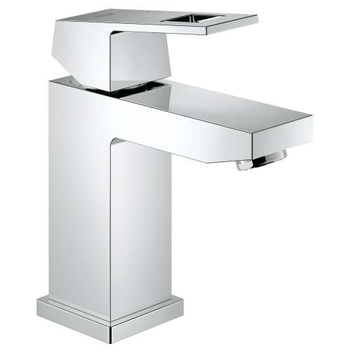 Grohe Eurocube S-Size Bathroom Faucet with Fixed Spout In StarLight Chrome