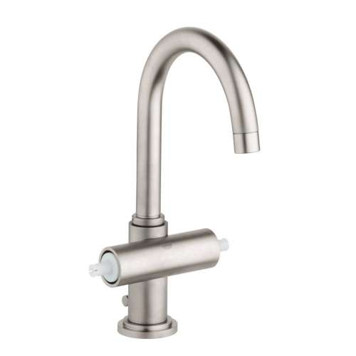 Grohe Atrio L-Size Bathroom Faucet with Swivel Spout In Brushed Nickel