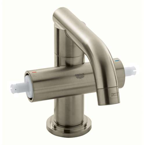 Grohe Atrio M-Size Bathroom Faucet with Swivel Spout In Brushed Nickel