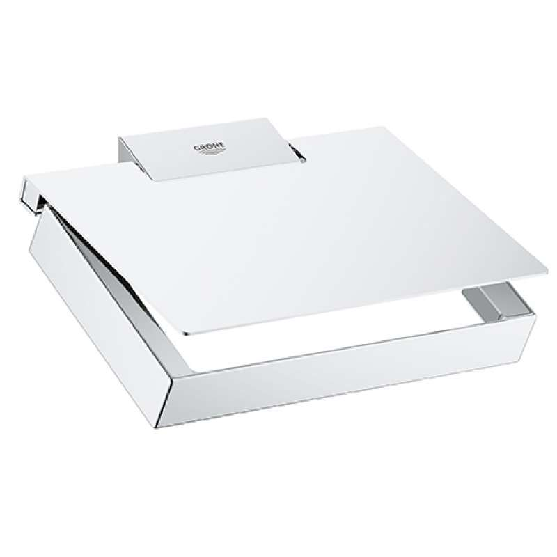 Grohe Selection Cube Metal 6.69-in. Toilet Paper Holder