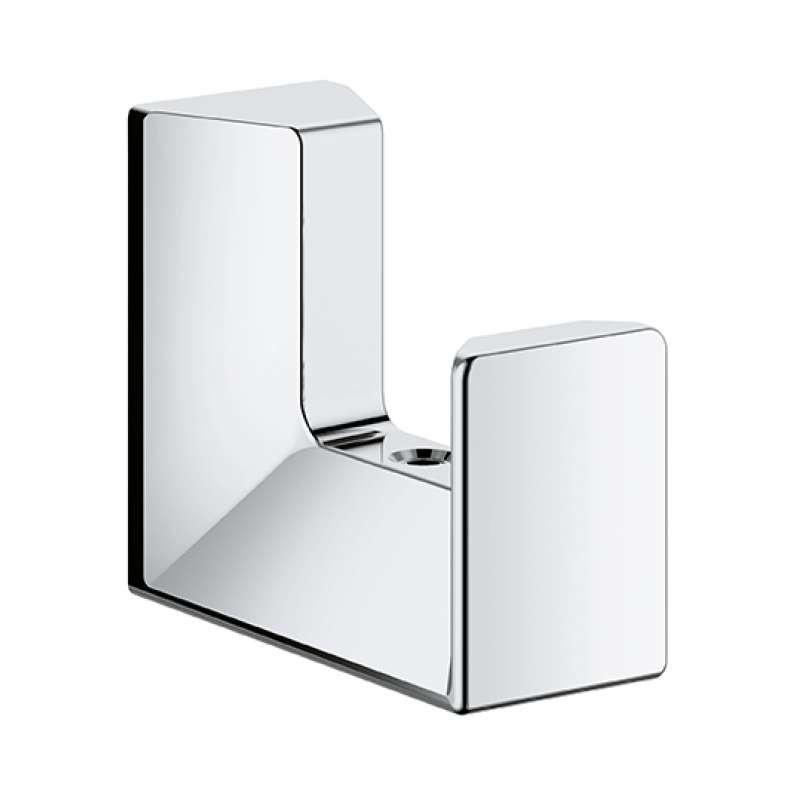 Grohe Selection Cube Metal 3.54-in. Robe Hook