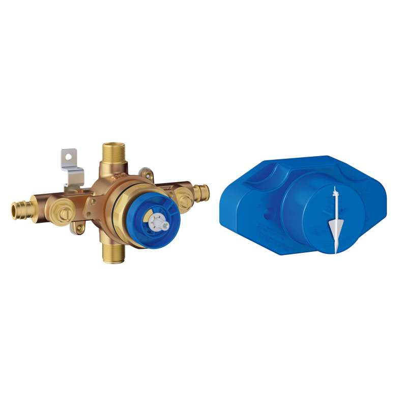 Grohe Grohsafe Universal Pressure Balance Rough-In valve In StarLight Chrome