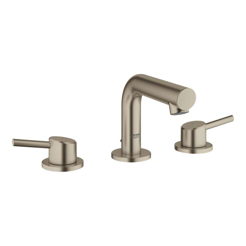 Grohe Concetto Widespread Bathroom Faucet In Brushed Nickel