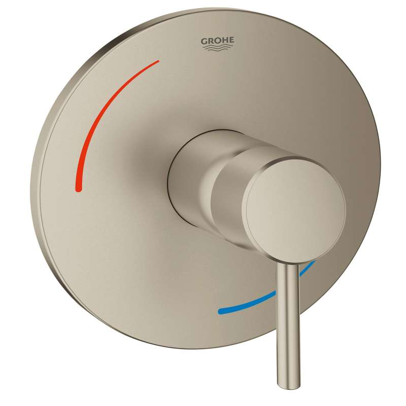 Grohe Concetto Pressure Balance Valve Trim In Brushed Nickel