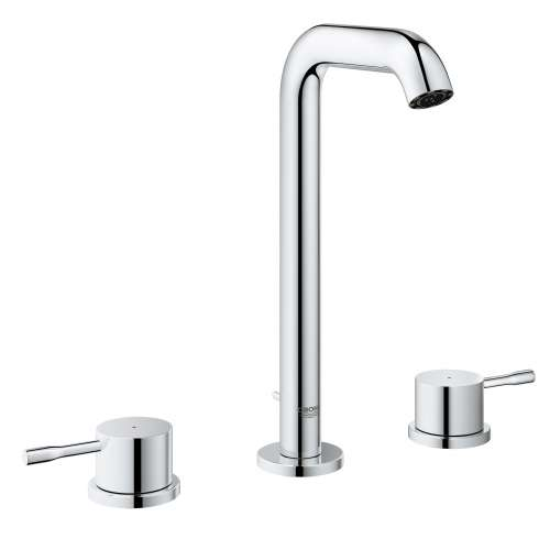 Grohe Essence L-Size Bathroom Faucet with Fixed Spout In StarLight Chrome