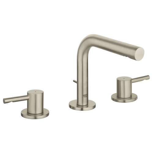 Grohe Essence M-Size Bathroom Faucet with Tubular Spout In Brushed Nickel