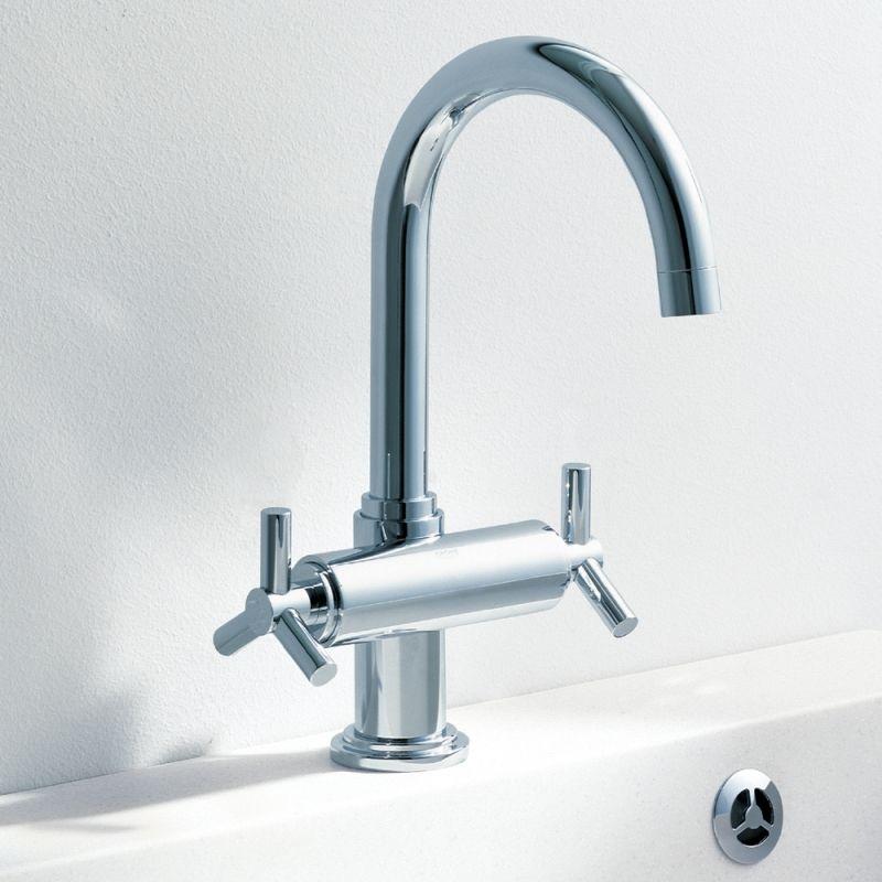 Grohe Atrio Centerset Single Hole Handle Bathroom Faucet