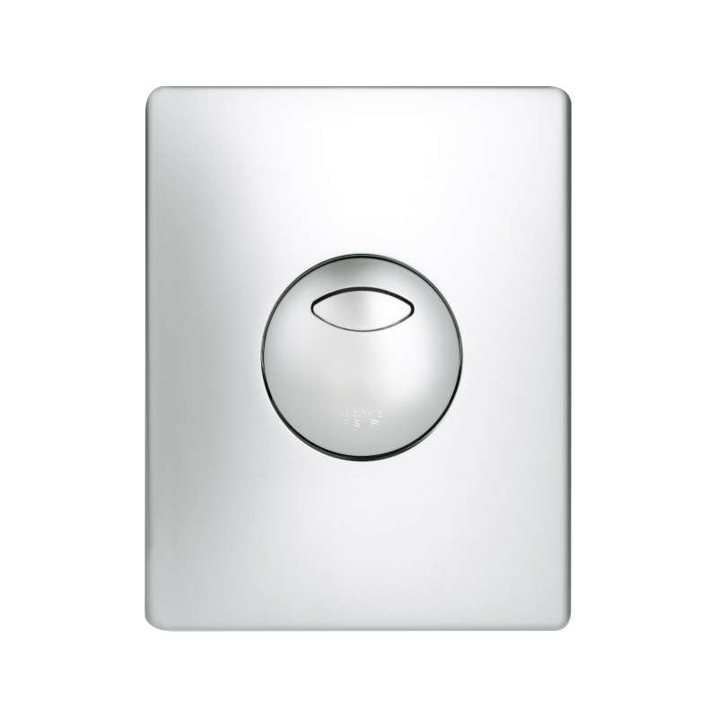 Grohe Skate Skate Wall Plate in Matte Chrome