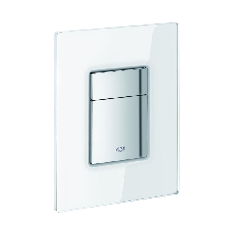 Grohe Skate Cosmopolitan Glass Wall Plate With Glass Surface