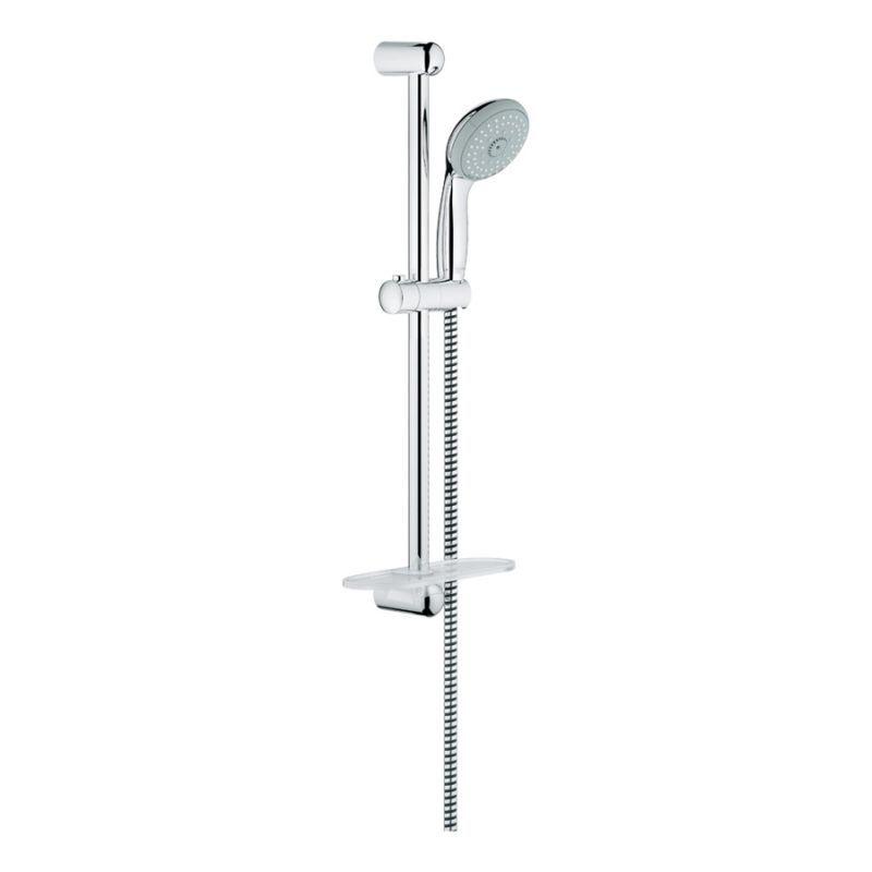 Buy Grohe New Tempesta Classic 100 Shower Rail Set Online - Bath1.com