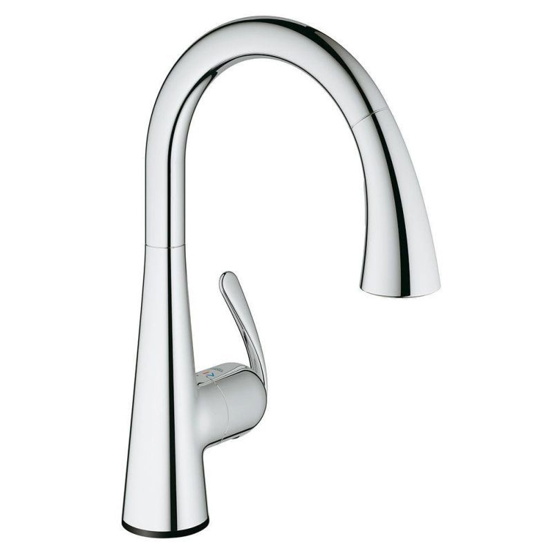 Grohe LadyLux Touch Pull Down Kitchen Faucet With Touch Technology