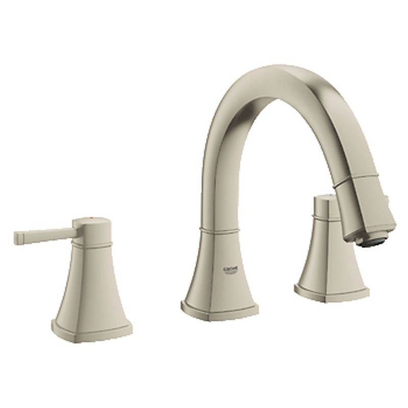 Delta Deck Mount Tub Faucet With Hand Shower Delta Trinsic