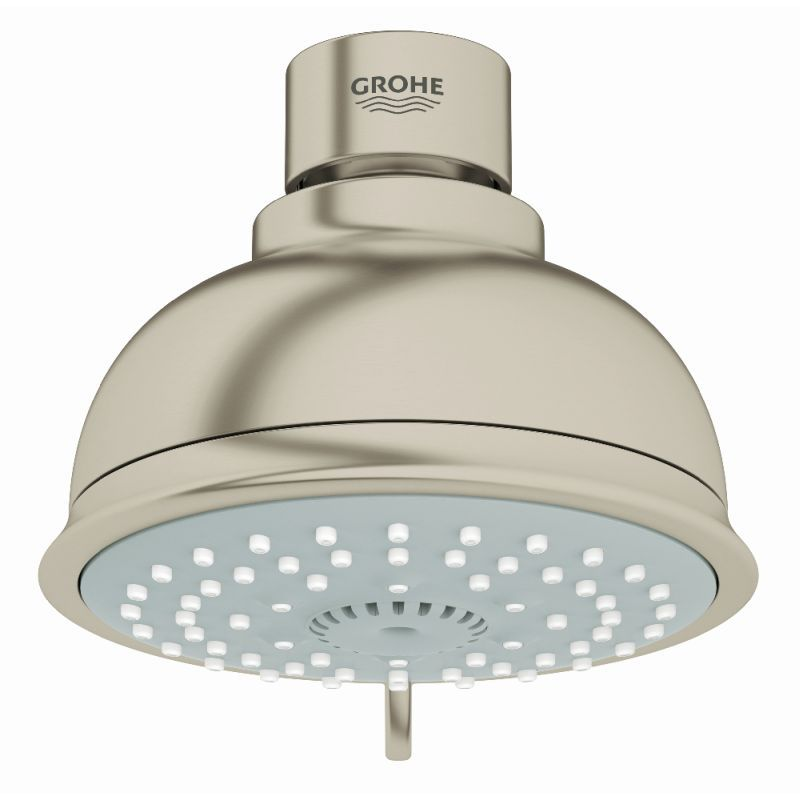 Grohe New Tempesta Rustic Shower Head With 4 Sprays