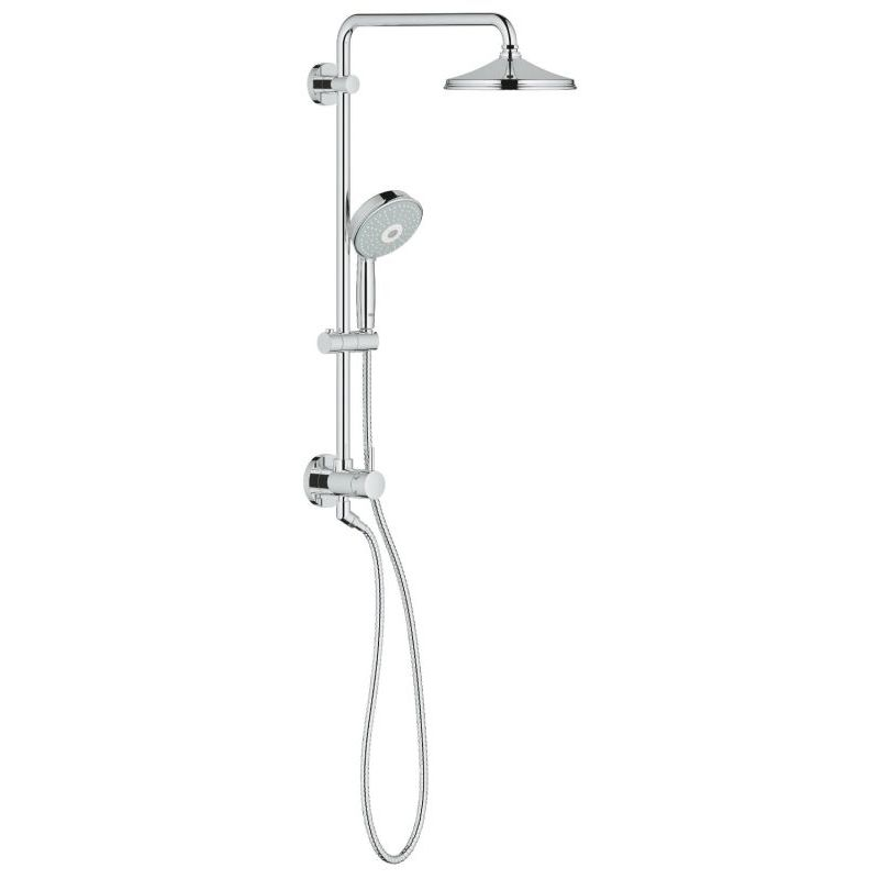 Buy Grohe RetroFit 210 Shower System Online - Bath1.com