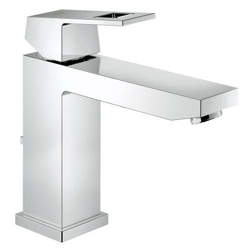 Grohe Eurocube M-Size Bathroom Faucet with C-Spout, Swivel Spout In StarLight Chrome