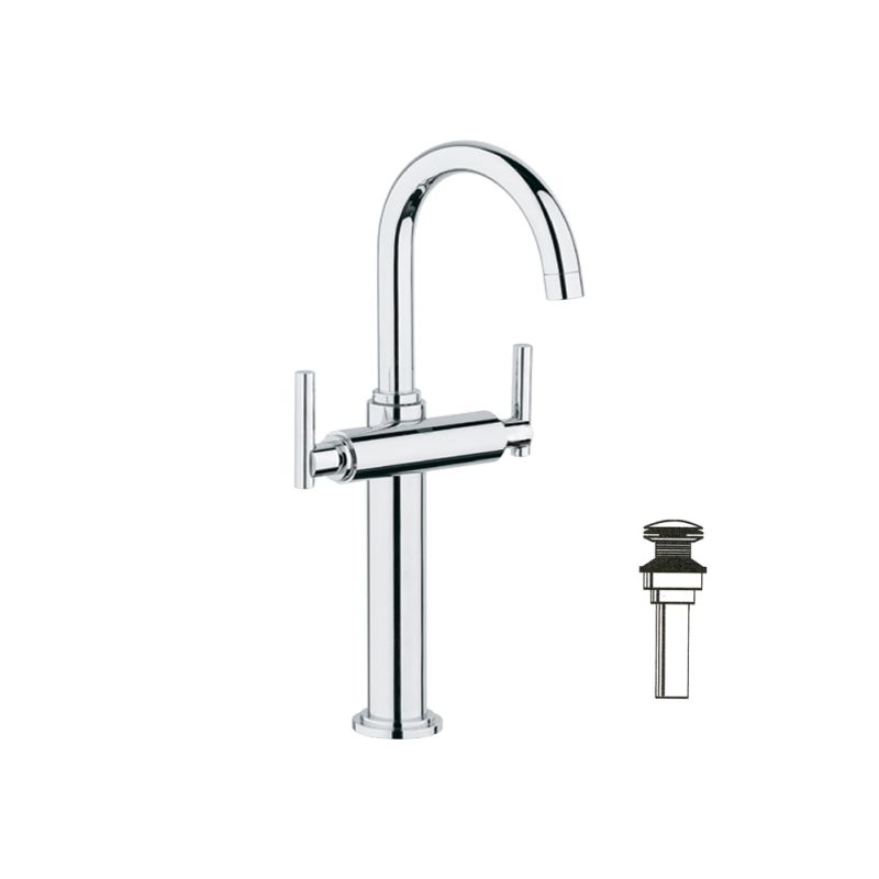 Sale Grohe Atrio Vessel Bathroom Faucet Kit