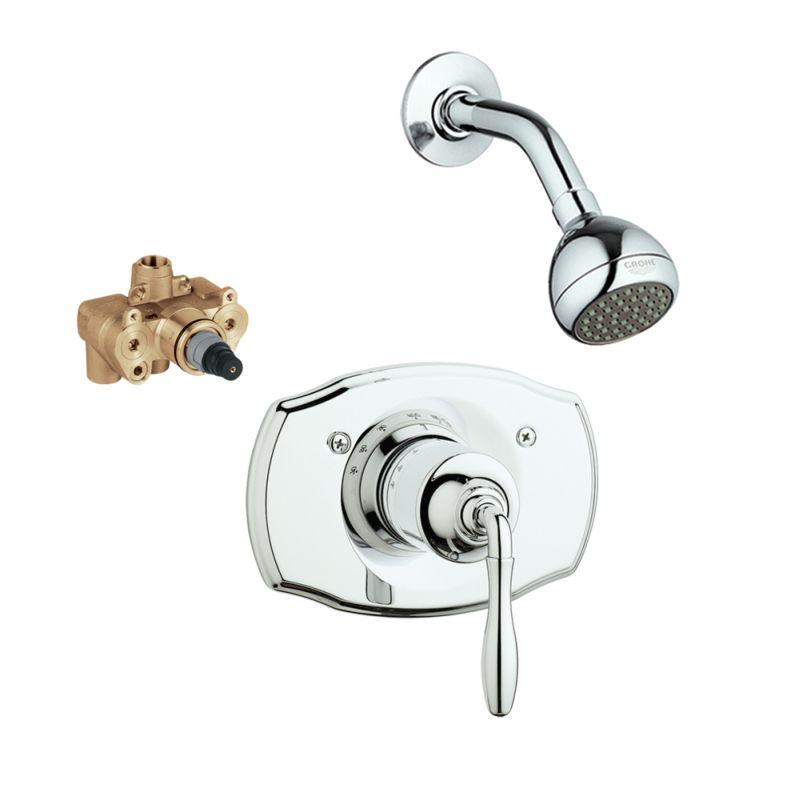 Buy Grohe Seabury Shower Valve Kit Online - Bath1.com