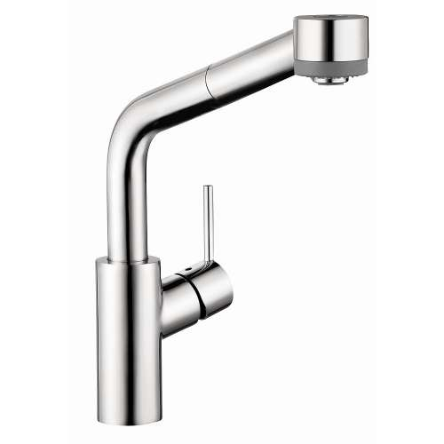 Hansgrohe Talis S SemiArc Kitchen Faucet, 2-Spray Pull-Out, 1.75 GPM - In Multiple Colors